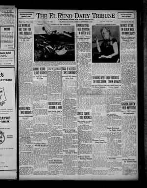 Primary view of object titled 'The El Reno Daily Tribune (El Reno, Okla.), Vol. 50, No. 163, Ed. 1 Monday, September 8, 1941'.