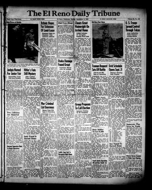 Primary view of object titled 'The El Reno Daily Tribune (El Reno, Okla.), Vol. 54, No. 163, Ed. 1 Sunday, September 9, 1945'.