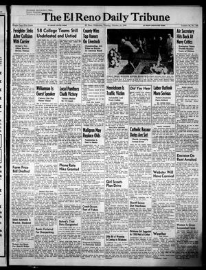 Primary view of object titled 'The El Reno Daily Tribune (El Reno, Okla.), Vol. 58, No. 196, Ed. 1 Tuesday, October 18, 1949'.