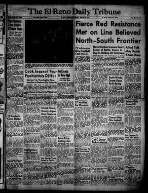 Primary view of object titled 'The El Reno Daily Tribune (El Reno, Okla.), Vol. 60, No. 17, Ed. 1 Tuesday, March 20, 1951'.