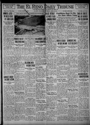 Primary view of object titled 'The El Reno Daily Tribune (El Reno, Okla.), Vol. 49, No. 48, Ed. 1 Thursday, April 25, 1940'.