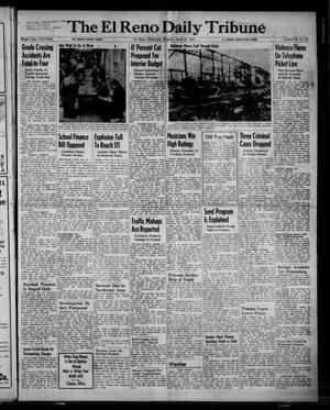 Primary view of object titled 'The El Reno Daily Tribune (El Reno, Okla.), Vol. 56, No. 44, Ed. 1 Monday, April 21, 1947'.