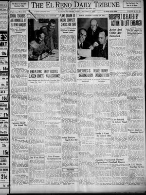 Primary view of object titled 'The El Reno Daily Tribune (El Reno, Okla.), Vol. 48, No. 215, Ed. 1 Friday, November 3, 1939'.