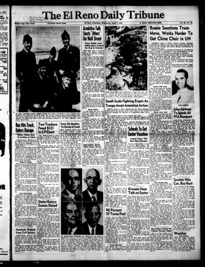 Primary view of object titled 'The El Reno Daily Tribune (El Reno, Okla.), Vol. 62, No. 28, Ed. 1 Wednesday, April 1, 1953'.