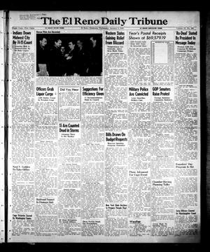 Primary view of object titled 'The El Reno Daily Tribune (El Reno, Okla.), Vol. 57, No. 263, Ed. 1 Wednesday, January 5, 1949'.