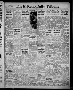 Primary view of object titled 'The El Reno Daily Tribune (El Reno, Okla.), Vol. 55, No. 292, Ed. 1 Thursday, February 6, 1947'.