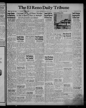 Primary view of object titled 'The El Reno Daily Tribune (El Reno, Okla.), Vol. 52, No. 115, Ed. 1 Tuesday, July 13, 1943'.