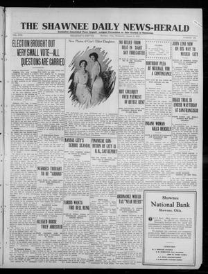 Primary view of object titled 'The Shawnee Daily News-Herald (Shawnee, Okla.), Vol. 17, No. 294, Ed. 1 Wednesday, August 6, 1913'.