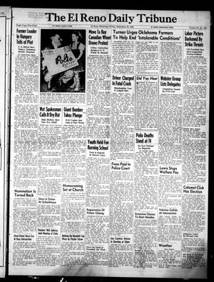 Primary view of object titled 'The El Reno Daily Tribune (El Reno, Okla.), Vol. 58, No. 169, Ed. 1 Friday, September 16, 1949'.