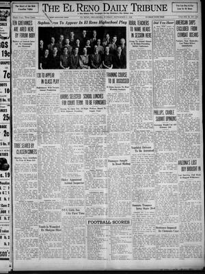 Primary view of object titled 'The El Reno Daily Tribune (El Reno, Okla.), Vol. 48, No. 216, Ed. 1 Sunday, November 5, 1939'.