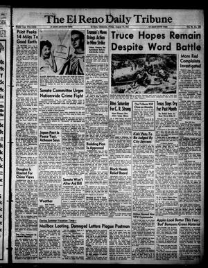 Primary view of object titled 'The El Reno Daily Tribune (El Reno, Okla.), Vol. 60, No. 156, Ed. 1 Friday, August 31, 1951'.