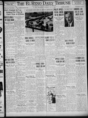Primary view of object titled 'The El Reno Daily Tribune (El Reno, Okla.), Vol. 48, No. 225, Ed. 1 Wednesday, November 15, 1939'.