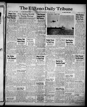 Primary view of The El Reno Daily Tribune (El Reno, Okla.), Vol. 52, No. 75, Ed. 1 Wednesday, May 26, 1943