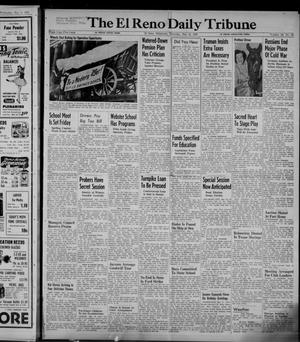 Primary view of object titled 'The El Reno Daily Tribune (El Reno, Okla.), Vol. 58, No. 63, Ed. 1 Thursday, May 12, 1949'.