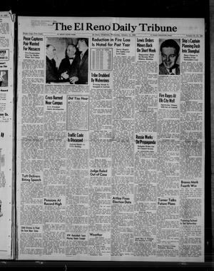 Primary view of object titled 'The El Reno Daily Tribune (El Reno, Okla.), Vol. 58, No. 268, Ed. 1 Wednesday, January 11, 1950'.