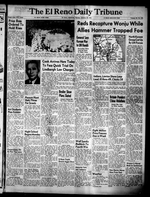 Primary view of object titled 'The El Reno Daily Tribune (El Reno, Okla.), Vol. 59, No. 278, Ed. 1 Sunday, January 21, 1951'.