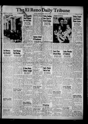 Primary view of object titled 'The El Reno Daily Tribune (El Reno, Okla.), Vol. 54, No. 266, Ed. 1 Friday, January 11, 1946'.