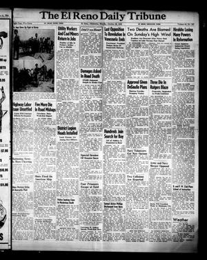 Primary view of object titled 'The El Reno Daily Tribune (El Reno, Okla.), Vol. 54, No. 197, Ed. 1 Monday, October 22, 1945'.
