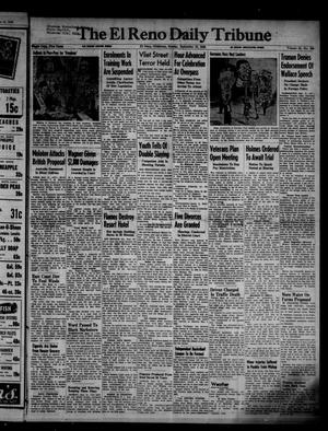 Primary view of object titled 'The El Reno Daily Tribune (El Reno, Okla.), Vol. 55, No. 169, Ed. 1 Sunday, September 15, 1946'.