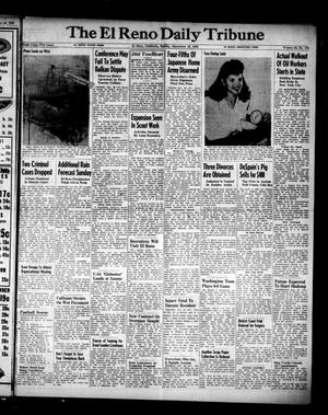 Primary view of object titled 'The El Reno Daily Tribune (El Reno, Okla.), Vol. 54, No. 178, Ed. 1 Sunday, September 30, 1945'.