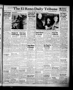 Primary view of object titled 'The El Reno Daily Tribune (El Reno, Okla.), Vol. 58, No. 25, Ed. 1 Tuesday, March 29, 1949'.