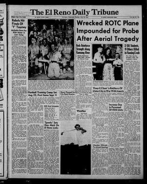 Primary view of object titled 'The El Reno Daily Tribune (El Reno, Okla.), Vol. 62, No. 120, Ed. 1 Sunday, July 19, 1953'.