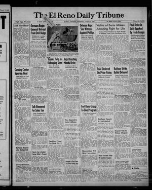 Primary view of object titled 'The El Reno Daily Tribune (El Reno, Okla.), Vol. 52, No. 134, Ed. 1 Wednesday, August 4, 1943'.