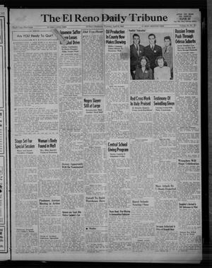 Primary view of object titled 'The El Reno Daily Tribune (El Reno, Okla.), Vol. 53, No. 32, Ed. 1 Thursday, April 6, 1944'.