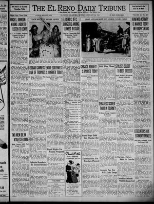 Primary view of object titled 'The El Reno Daily Tribune (El Reno, Okla.), Vol. 48, No. 288, Ed. 1 Monday, January 29, 1940'.