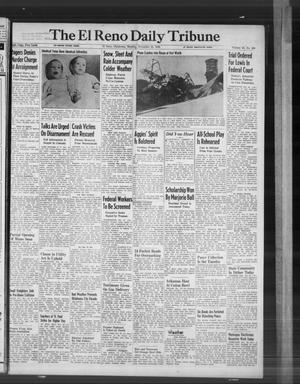 Primary view of The El Reno Daily Tribune (El Reno, Okla.), Vol. 55, No. 230, Ed. 1 Monday, November 25, 1946