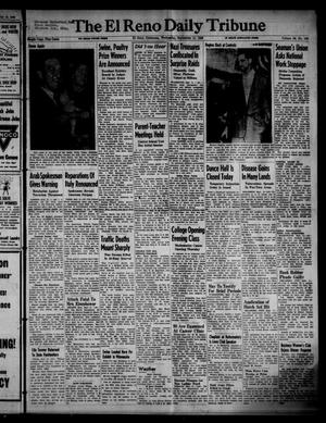 Primary view of object titled 'The El Reno Daily Tribune (El Reno, Okla.), Vol. 55, No. 166, Ed. 1 Wednesday, September 11, 1946'.