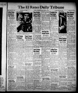 Primary view of object titled 'The El Reno Daily Tribune (El Reno, Okla.), Vol. 53, No. 267, Ed. 1 Tuesday, January 9, 1945'.