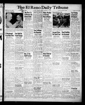Primary view of object titled 'The El Reno Daily Tribune (El Reno, Okla.), Vol. 54, No. 245, Ed. 1 Monday, December 17, 1945'.