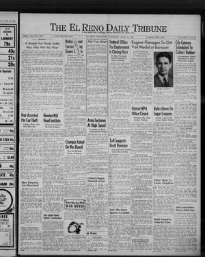 Primary view of object titled 'The El Reno Daily Tribune (El Reno, Okla.), Vol. 51, No. 95, Ed. 1 Thursday, June 18, 1942'.