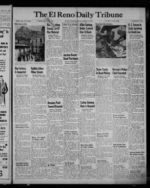 Primary view of object titled 'The El Reno Daily Tribune (El Reno, Okla.), Vol. 52, No. 144, Ed. 1 Monday, August 16, 1943'.