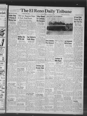 Primary view of object titled 'The El Reno Daily Tribune (El Reno, Okla.), Vol. 55, No. 245, Ed. 1 Thursday, December 12, 1946'.