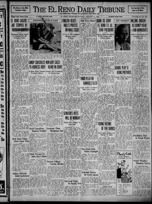 Primary view of object titled 'The El Reno Daily Tribune (El Reno, Okla.), Vol. 48, No. 281, Ed. 1 Sunday, January 21, 1940'.