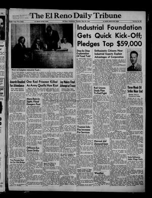 Primary view of The El Reno Daily Tribune (El Reno, Okla.), Vol. 61, No. 69, Ed. 1 Tuesday, May 20, 1952