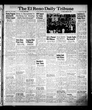 Primary view of object titled 'The El Reno Daily Tribune (El Reno, Okla.), Vol. 57, No. 262, Ed. 1 Tuesday, January 4, 1949'.