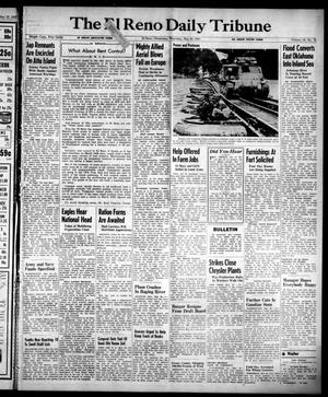 Primary view of object titled 'The El Reno Daily Tribune (El Reno, Okla.), Vol. 52, No. 70, Ed. 1 Thursday, May 20, 1943'.