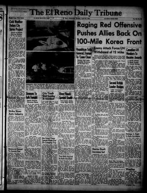 Primary view of object titled 'The El Reno Daily Tribune (El Reno, Okla.), Vol. 60, No. 46, Ed. 1 Monday, April 23, 1951'.