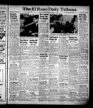 Primary view of object titled 'The El Reno Daily Tribune (El Reno, Okla.), Vol. 56, No. 163, Ed. 1 Wednesday, September 10, 1947'.