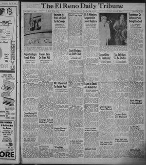 Primary view of object titled 'The El Reno Daily Tribune (El Reno, Okla.), Vol. 58, No. 133, Ed. 1 Thursday, August 4, 1949'.