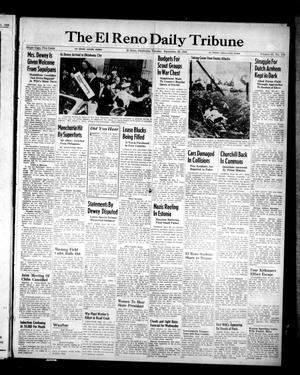 Primary view of object titled 'The El Reno Daily Tribune (El Reno, Okla.), Vol. 53, No. 178, Ed. 1 Tuesday, September 26, 1944'.