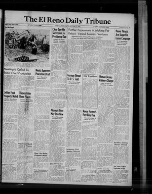 Primary view of object titled 'The El Reno Daily Tribune (El Reno, Okla.), Vol. 54, No. 93, Ed. 1 Sunday, June 17, 1945'.