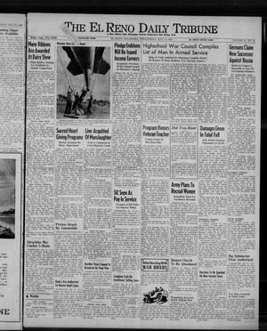 Primary view of object titled 'The El Reno Daily Tribune (El Reno, Okla.), Vol. 51, No. 64, Ed. 1 Wednesday, May 13, 1942'.