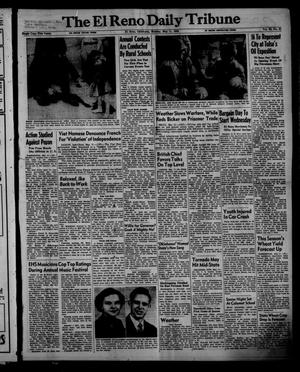 Primary view of object titled 'The El Reno Daily Tribune (El Reno, Okla.), Vol. 62, No. 61, Ed. 1 Monday, May 11, 1953'.