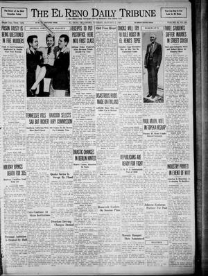 Primary view of object titled 'The El Reno Daily Tribune (El Reno, Okla.), Vol. 48, No. 265, Ed. 1 Tuesday, January 2, 1940'.