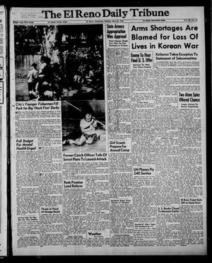 Primary view of object titled 'The El Reno Daily Tribune (El Reno, Okla.), Vol. 62, No. 72, Ed. 1 Sunday, May 24, 1953'.