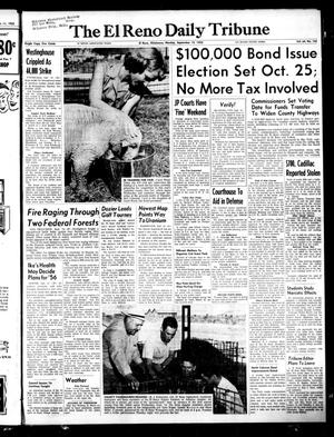 Primary view of object titled 'The El Reno Daily Tribune (El Reno, Okla.), Vol. 64, No. 165, Ed. 1 Monday, September 12, 1955'.